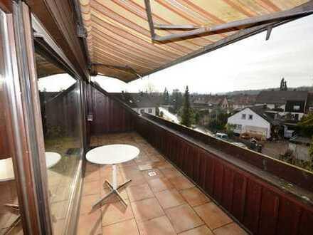 Viele Extras: Dachterrasse, offener Kaminofen, Fernsicht!