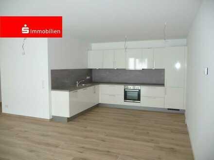 Neubauwohnung mit großzügiger Raumaufteilung mit Balkon, Einbauküche, modernes Bad, Gäste-WC, Au