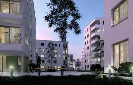 Neubau 4-Zimmerwohnung mit Wohnküche und Dachterrasse in Pasing