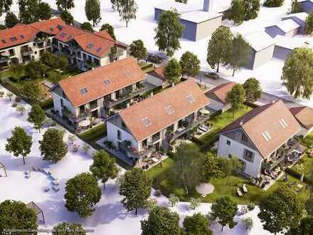 **Wohnen im Fünfseenland** Großzügiges Landhaus mit Reihenhaus-Charakter unterhalb des Klosterberges