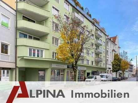 2-Zimmer-Wohnung in bester Rosenheimer Stadtlage - auf Erbpachtgrund!