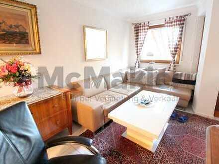 Naturnah, gemütlich und gut angebunden: Renovierte 2-Zimmer-Wohnung mit Balkon!