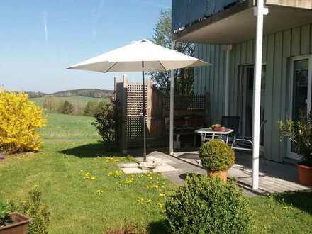 Schöne drei Zimmer Wohnung in Stamsried (Cham) am Ortsrand