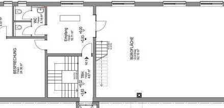 Büroräume / Gewerberäume mit 210 m² + 93 m²
