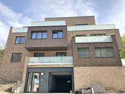 Individuelle 3-Zimmer-Neubau-Wohnung mit Balkon und Fahrstuhl