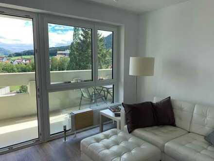 Sehr schöne neu renovierte 2-Zimmer Wohnung mit riesigem Balkon in Balingen