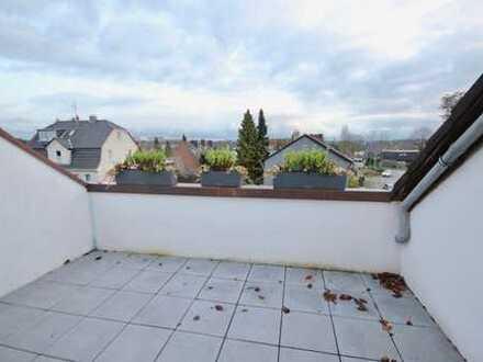 **90m² DG Wohnung mit 2 Bädern, Dachterrasse & Garage in ruhiger Lage in gepflegtem Objekt**