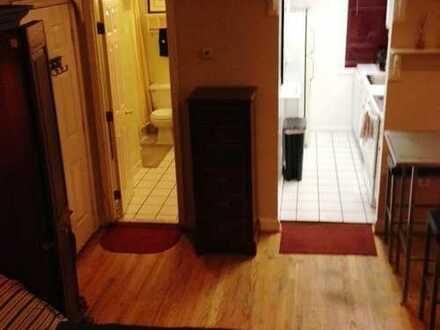 komplett eingerichtete Studio-Apartment angeboten.