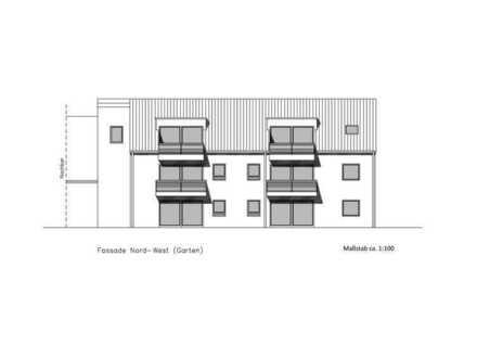 Ideale Single- oder Pärchenwohnung in Neubau-Mehrfamilienhaus