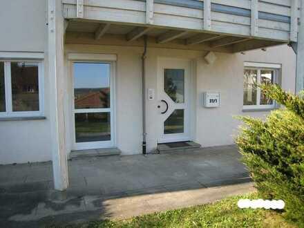 Gepflegte 2,5-Zimmer-Wohnung mit Terrasse, EBK und TG in Inzigkofen