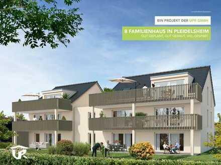 Traumhafte 3-Zimmer DG Wohnung mit einem nach Süden ausgerichteten Balkon