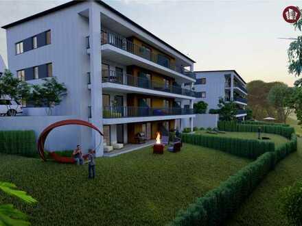 Großzügiges 2-Zimmer-Apartment im KfW-Effizienzhaus - 1. OG mit Südbalkon