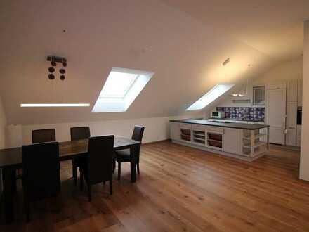 Premium Penthouse (Loft-like) 3,5ZKB Wohnung 92m² (eff 115 m²) mit Miele Küche (auch vollmobliert)
