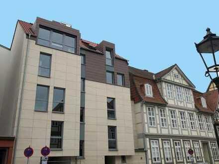 Neubau-Erstbezug: 2-Zimmerwohnung mitten in der historischen Innenstadt/1. OG