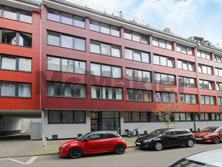 Bewohnte 1-Zi.-ETW in begehrter universitäts- und zentrumsnaher Lage in Düsseldorf-Derendorf