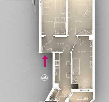15 Quadratmeter Zimmer in 3er Studenten-WG in Reudnitz-Thonberg ab sofort!