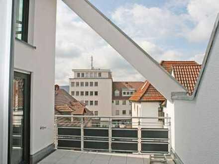 Stylisches und sonniges Wohnen auf zwei Ebenen für 2-3 Personen im Stadtzentrum von Winnenden!