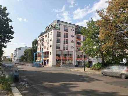 FAIRmietung: Gewerbefläche 97 qm in Dresden-Johannstadt. Büro/ Praxis/ Atelier..? 1 TG-Stellpl. mgl.