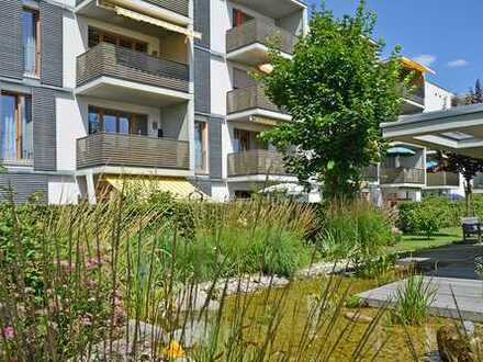Betreutes Wohnen: 2-Zimmer-Wohnung mit Balkon und EBK