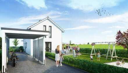 NEUBAU EFH mit 6 Zimmern auf 3 Ebenen in München-Trudering mit 300qm Garten