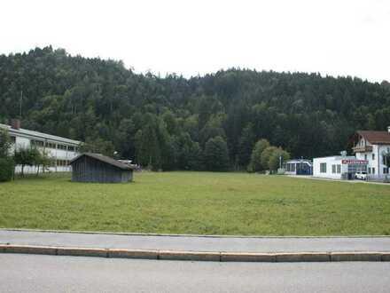 Baugrundstück in bester Gewerbelage in Füssen