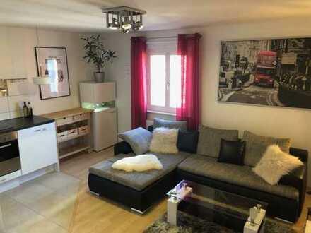 möblierte 2-Zimmer-Wohnung mit Einbauküche und guten Parkmöglichkeiten