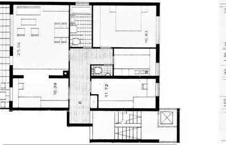 Modernes 4-ZKB-Appartment, teil-/vollmöbliert, großer Balkon, Garage, Heidelberg-Süd, 4 km zur City