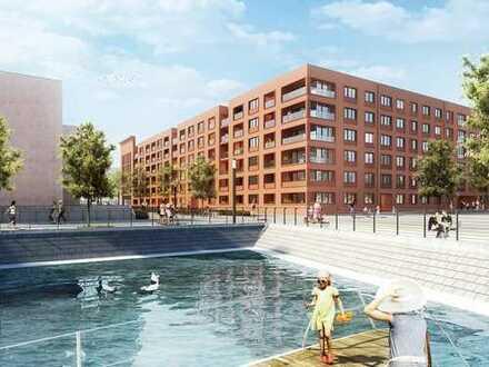 Entspanntes Wohnen am Rhein! Barrierefreies Apartment auf ca. 40 m² mit Loggia und Blick zum Wasser
