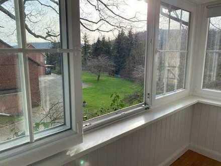 Renovierte u. großzügige Altbauwohnung am Ortsrand von Bad Eilsen...