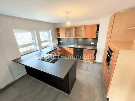 3-Zimmer-Wohnung mit sonnigem Balkon, Gartenanteil und Top-Einbauküche