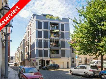 *Reserviert* - Wilsdruffer Vorstadt - Hochwertig ausgestattete 3-Zimmer-Wohnung mit Balkon,