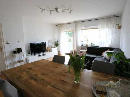 4-Raum-Wohnung mit Balkon und großem Garten in Rodenbach