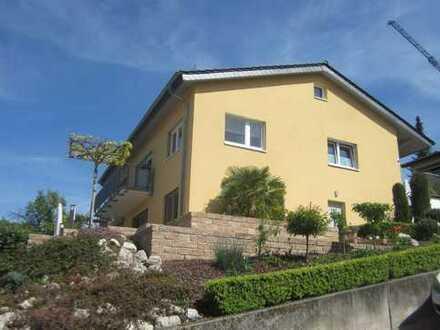 Moderne 2-Zi-Wohnung mit Blick ins Rheintal