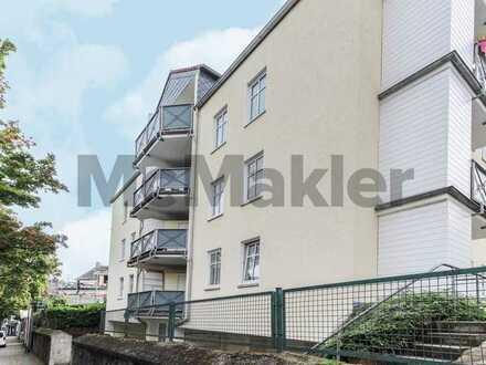 Zentral in Langerfeld: 1-Zi.-Apartment mit Balkon und Pkw-Stellplatz in Wuppertal