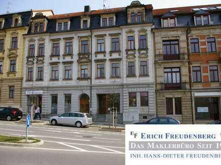 Gewerbeeinheit mit Schaufenster, WC und 3 Räumen in 01099 Dresden