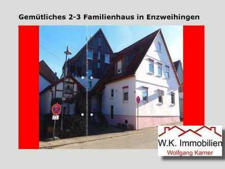 Gemütliches 2-3 Familienhaus in zentraler Lage