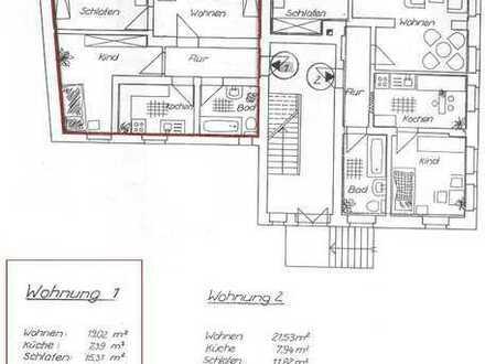3-Raumwohnung in schöner ländlicher Gegend zu vermieten