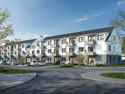 Erstbezug: 3-Zimmerwohnung (Erdgeschoss) für Senioren mit Einbauküche und Balkon in Giengen/Brenz