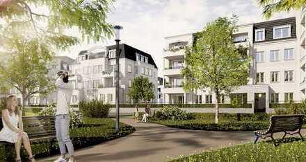 STILVOLL LEBEN AM STADTPARK, 3. BA, - elegante Dachgeschosswohnung mit Loftflair-