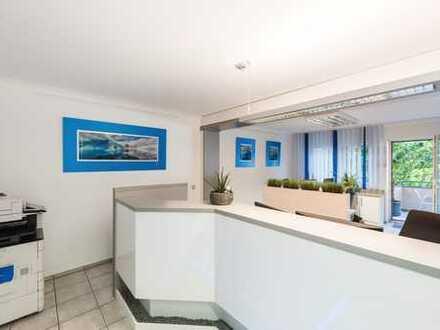 Exklusives Wohn-/ Bürohaus * 4 Terrassen & Garten * Stellplätze