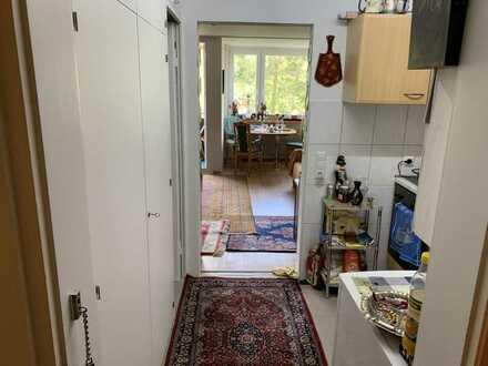 Helle 1-Zimmer-Wohnung mit Balkon und Einbauküche in Baiersbronn
