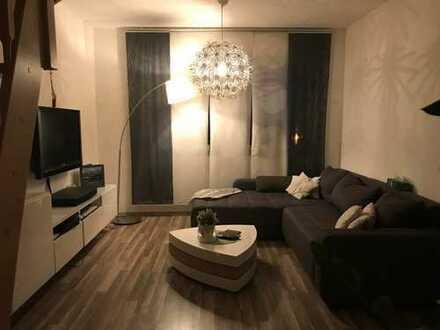 3-Zimmer-Maisonette-Wohnung mit Balkon und Einbauküche in Woltersdorf
