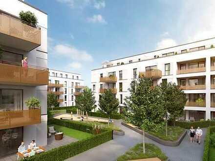 PANDION VILLE - Traumhafte 3-Zimmer-Erdgeschosswohnung mit sonniger Terrasse und ca. 96 m² Garten