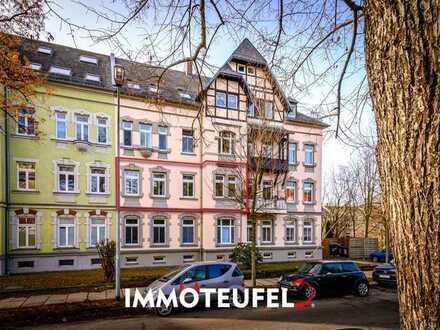 Frisch modernisierte 3-Raum-Wohnung in Chemnitz