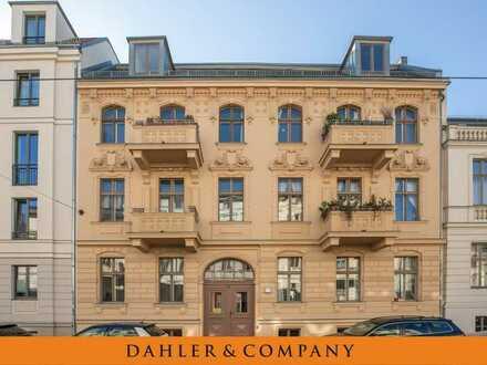 Exklusives Wohnen - ruhige Innenhoflage - im historischen Ensemble