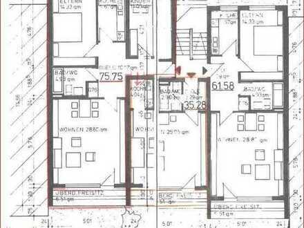Gepflegte Wohnung mit vier Zimmern und Balkon in Burghausen