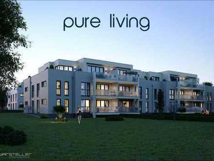 Herrliche Penthouse Wohnung mit Blick ins Grüne
