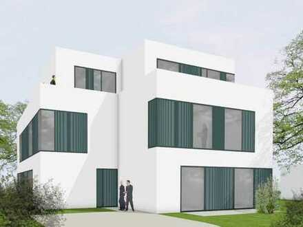Garten-Terrassen-Wohnung mit 4 Zimmern, 2 Bäder, Wohnküche, 200m zur S-Bahn