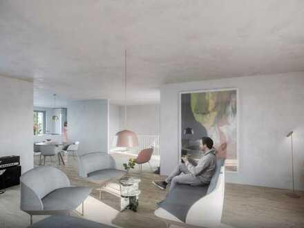 Erstbezug: stilvolle 4-Zimmer-Loft-Wohnung mit EBK und Terrasse in Würzburg Frauenland
