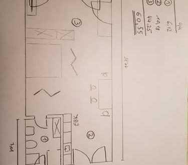 Erstbezug: 1-Zimmer-Wohnung mit EBK in Vaihingen im Untergeschoß